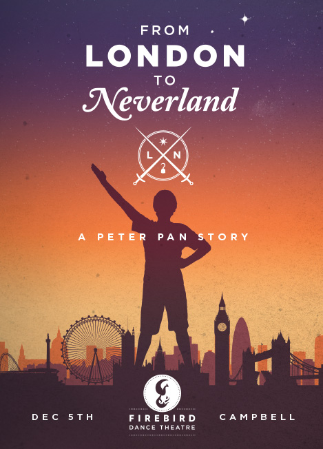 Firebird Dance Theatre's new original production, From London to Neverland